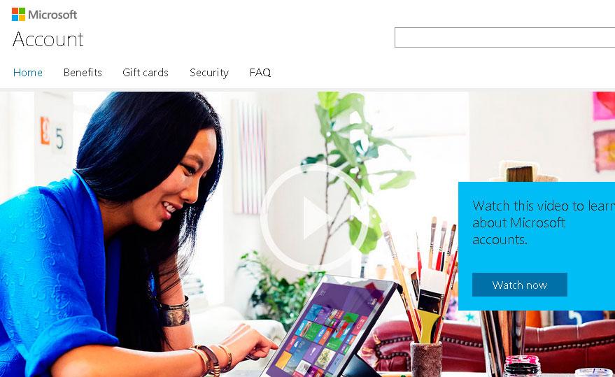 Registro Microsoft