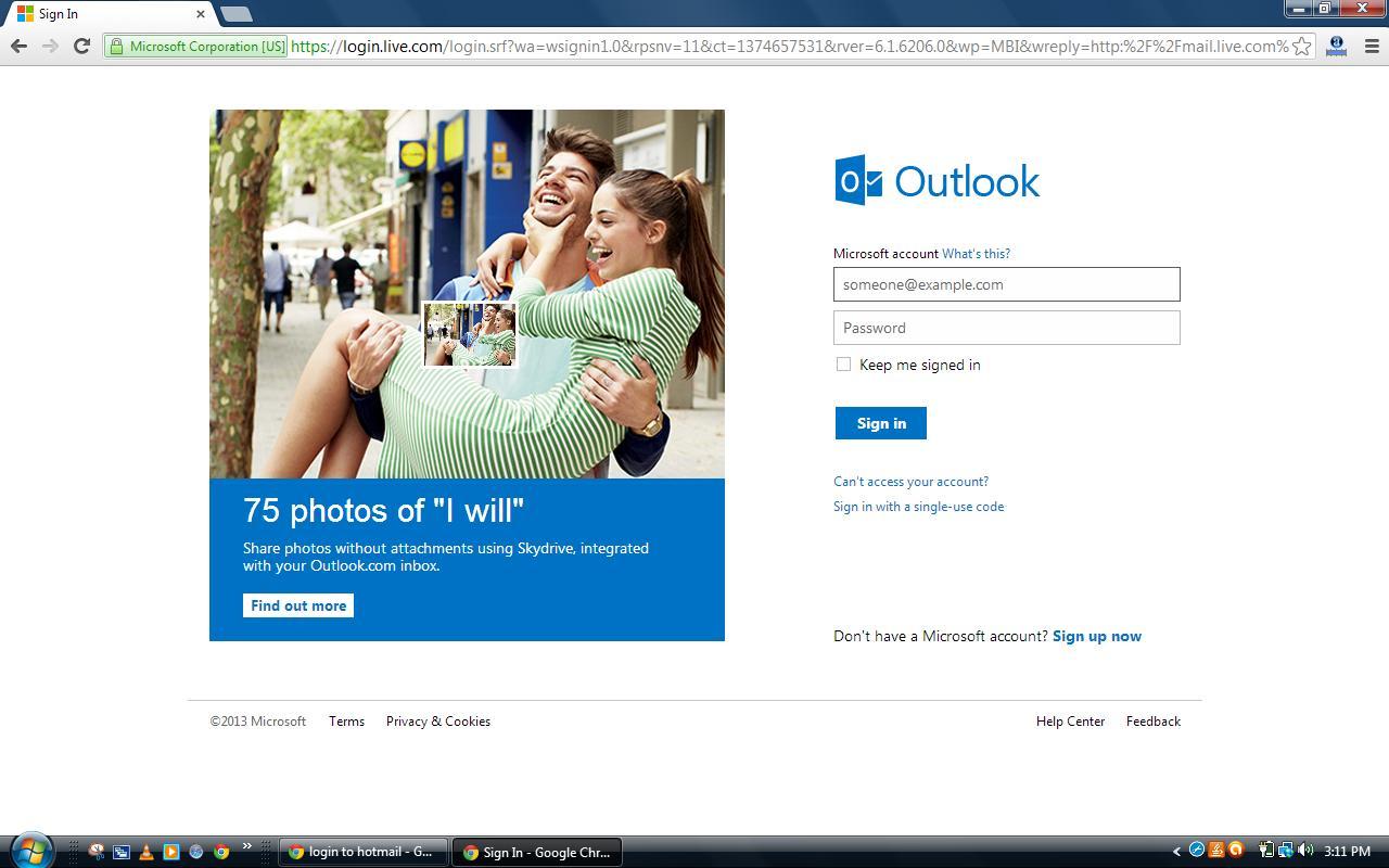 correo electronico hotmail.com
